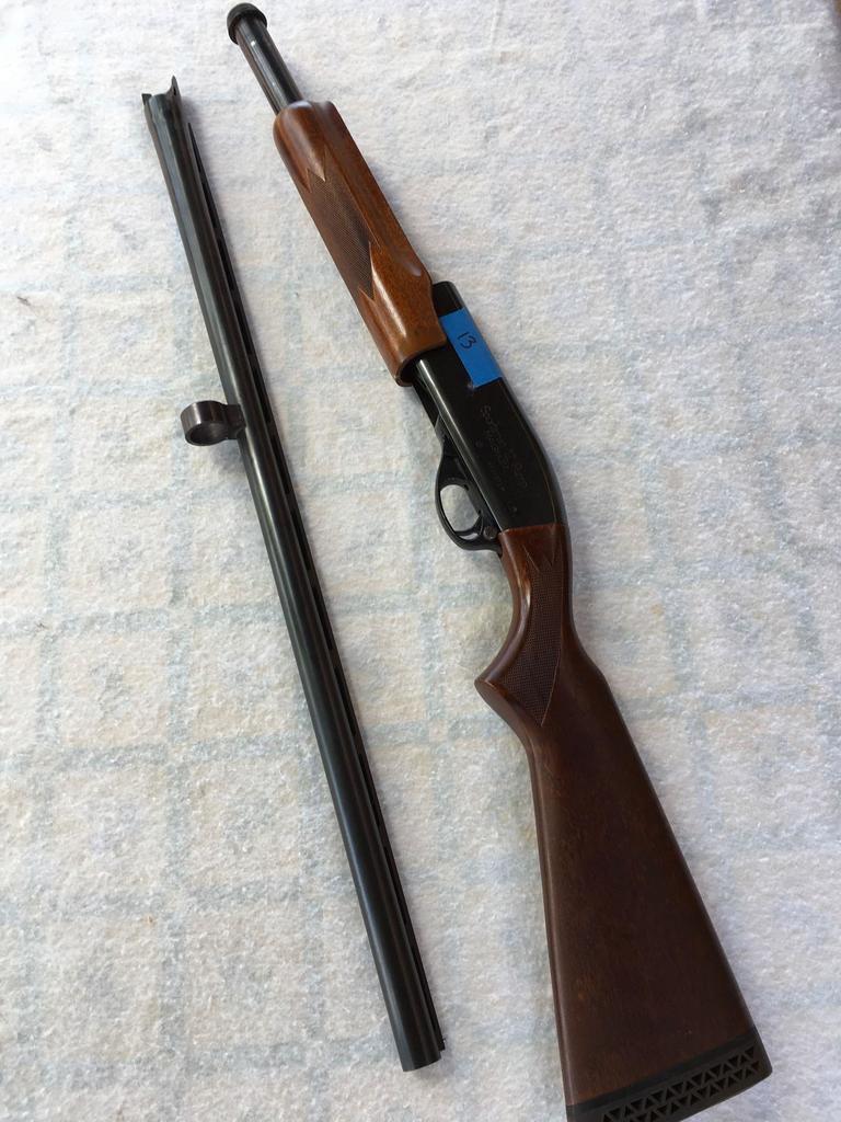 Remington Sportsman 12ga. Pump Shotgun Serial # W414971M