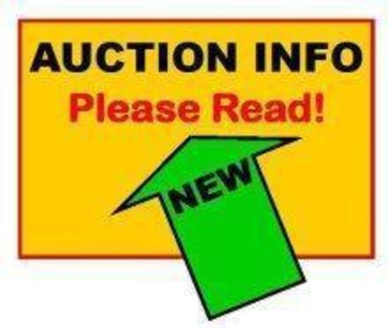 ********* TWO AUCTION LOCATIONS, PREVIEW DATE AND CHECK OUT DATES**** DO NOT BID ON THIS ITEM*