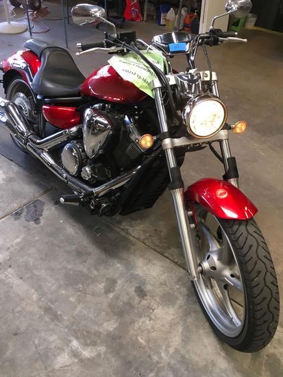 2015 Yamaha XVS 1300 Motorcycle