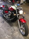2015 Yamaha XVS 130C Motorcycle