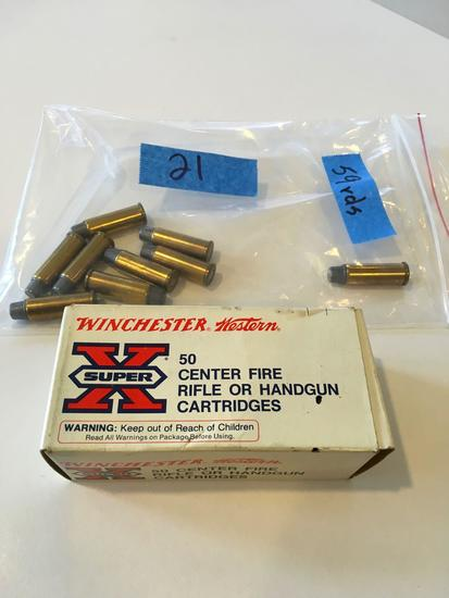 Ammo .44 rem mag, 59 rounds