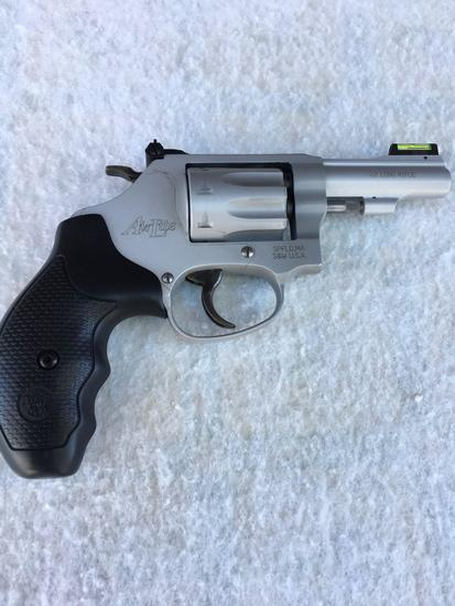 "Firearms: Smith & Wesson model 317 3"" AirLite revolver .22 LR 8 rd Ser. CNR 6095"