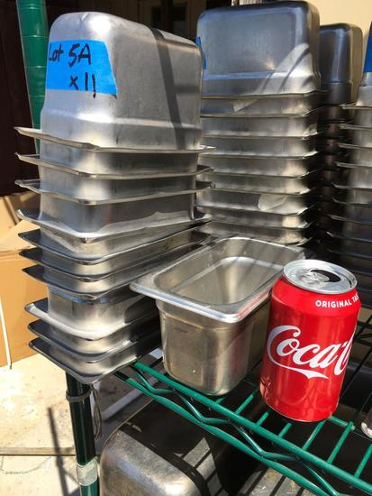 """S/S Food Pans, 1/9 x 4"""""""