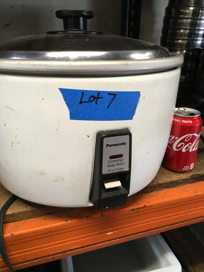Panasonic, 20 cup, rice cooker,120 v, works