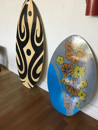"1) 41"" 1) 30"" Wave boards"