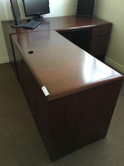 Four drawer office desk only