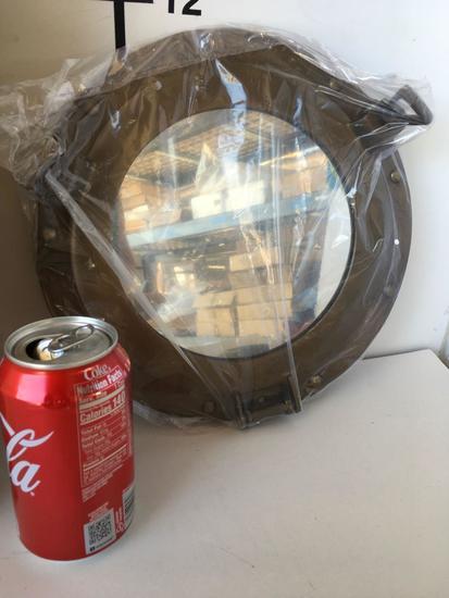 "New Nautical 11"" mirrored Porthole deco"