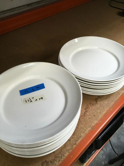 "11 1/2"" Syracuse serving plate. 19 pieces"