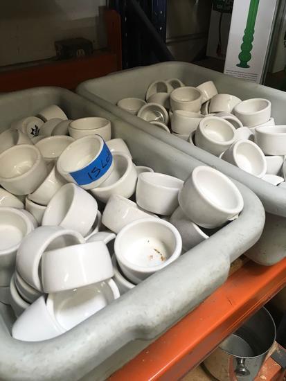 Lot 120+ Tuxton sauce/ dip bowl
