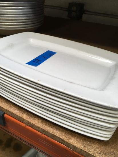 "12"" Syracuse serving plates. 12 pieces"