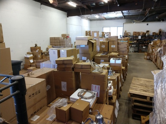 WAREHOUSE LIQUIDATION #3 A PLETHORA OF NEW ITEMS