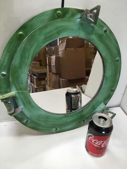 "New nautical. 15"" mirrored portholes"