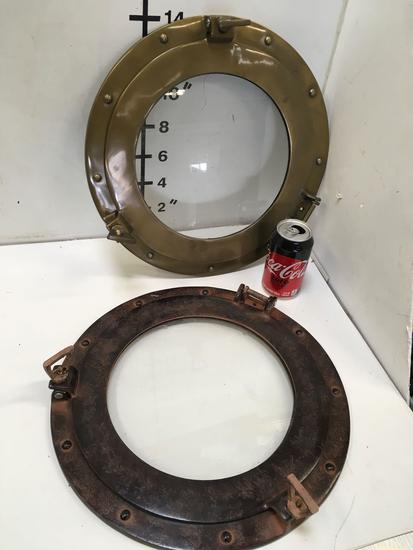 """New nautical. 15"""" portholes . 3 of each color"""
