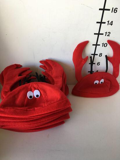 New crab hats Size: One Size