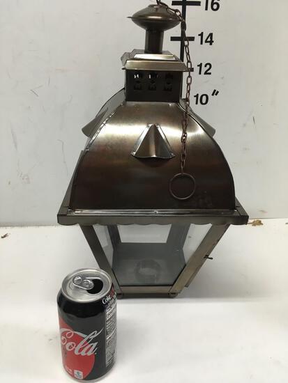 "New nautical 16"" bronze finish coach lamp"