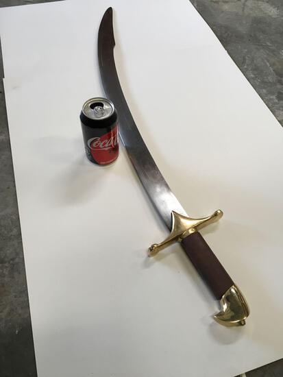 New metal Turkish Arabian warrior sword
