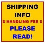 ****SHIPPING INFORMATION DO NOT BID ON THIS ITEM! JBA DOES NOT SHIP!!****