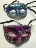 New 10) blue 6) pink eye masks