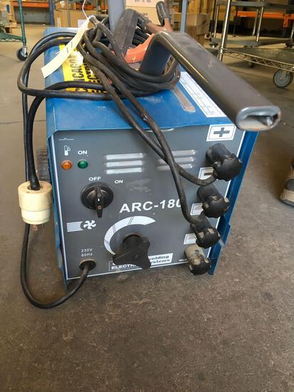 Chicago Electric welding systems Arc-180 welder. 230V 60 Hz
