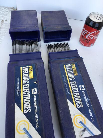 Washington Alloy Co. premium welding electrodes