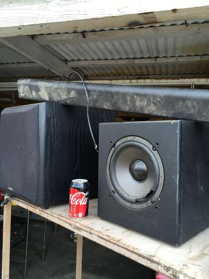 Infinity and Polkaudio speakers and LG sound bar