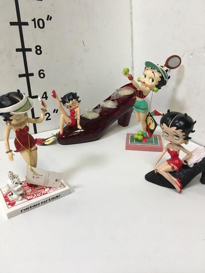 Collectible Betty Boop figurines