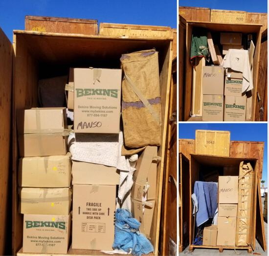 5 vaults. Contents in vaults. Vaults and pads NOT included. Office Purposes Manso, Brian