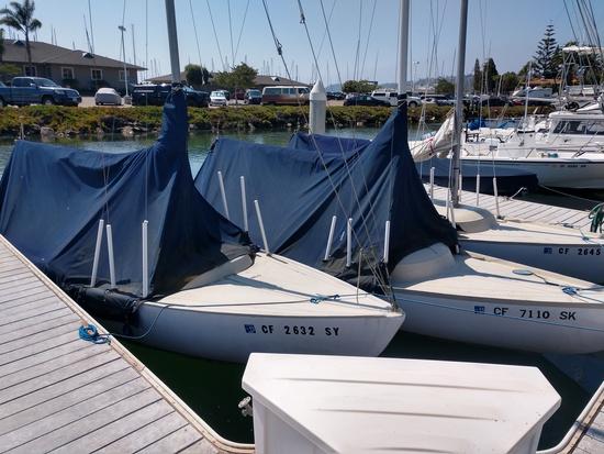 BSA Donations  3  21'  Keeled sloop sailboats