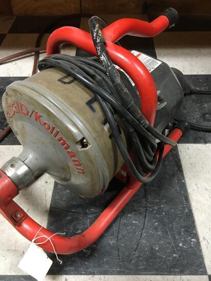 Ridgid / Kollmann power snake mod K40, 115v