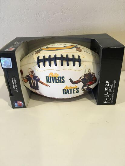 Rivers / Gates Commemorative Football Limited Edition 103 of 600 Full size Football,