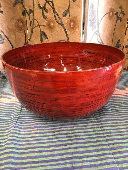 """Jumbo bowl made in Vietnam 8"""" x 15"""""""