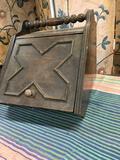 Vintage storage box with tin insert inside. 13