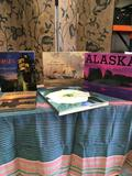 5 pieces. Alaska, Spain, One Hundred Flowers, Stobart, The Love Of Scotland