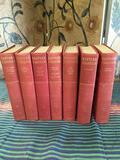7 pieces. Harvard Classics books