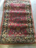 Hand tufted carpet approximately 57