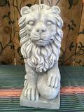 Home and Garden Lion decoration. Approximately 17