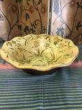 Large decorative ceramic bowl. Approximately 5