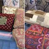 4 pieces. Assorted pillows