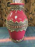 Decorative ceramic vase. Approximately 16