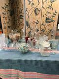 Lot. Glass/ crystal assorted items