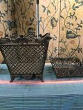 Metal decorative baskets. Made in China, heavy 16