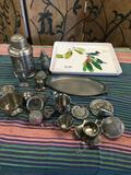 Assorted vintage pieces and Design Imports Made in Italy 12