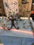 9 pieces. Assorted metal stand/ items