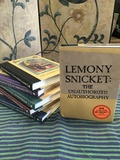 1-5 A Series Of Unfortunate Events hard copy books & Lemony Snicket