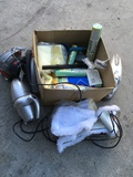Lot of assorted cleaning tools