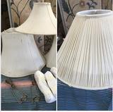 4 lamp shades 6 shade holders