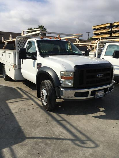2008 Ford F450 Super Duty, Power Stroke Diesel Runs & Drives, Factory Crate motor installed at 99K