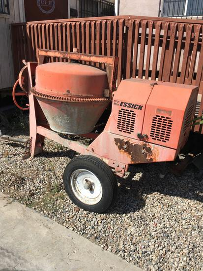 Essick Electric cement mixer ideal EC 92, WORKS 115 or 230V  See video of Mixer running 2nd photo