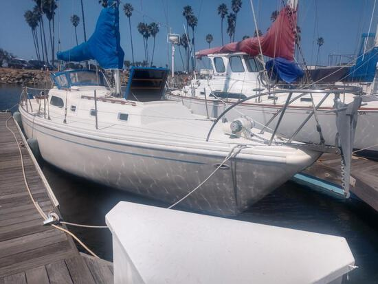 1974 Columbia 250 36' sail boat See all 44 pictures!!