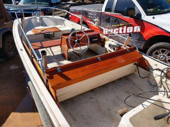 13' 1984 Boston Whaler with 1984 Dilly Trailer
